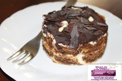 Come to Mama Isa's Supper Club and taste the special Mama Isa's Tiramisu