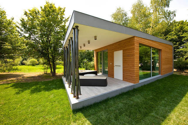 contemporary container home design