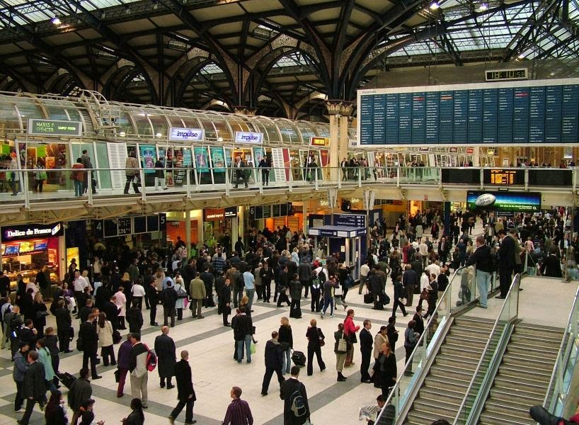 image of London station