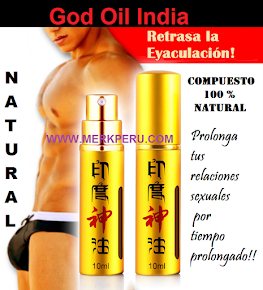 Producto Exclusivo God Oil India