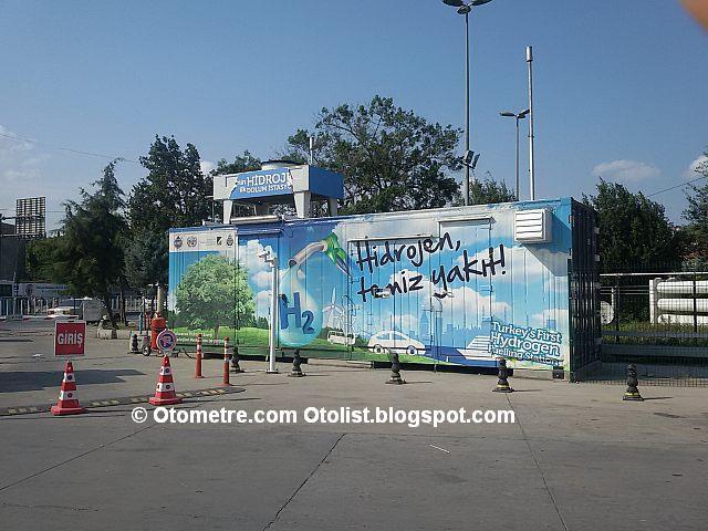 hidrojen istasyonu