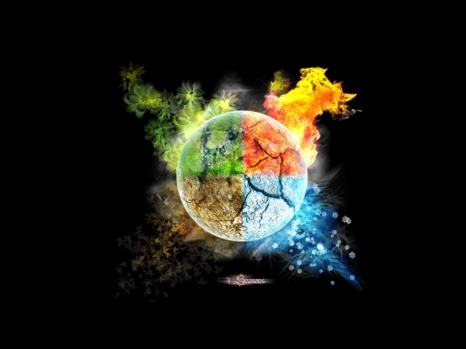 Temporada de multicolor
