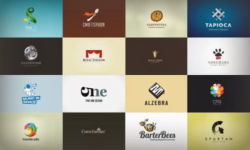 45 2D  Blog Logo Design Inspiration