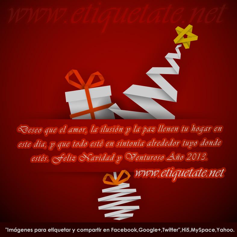 """6 Imágenes con mensajes de """"Feliz Navidad"""""""