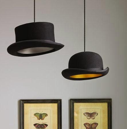 lampara de techo bombín