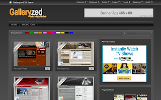 Galleryzed V2 Blogger Template