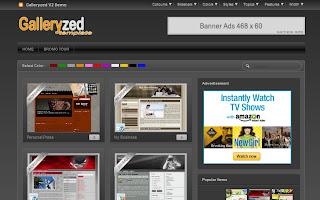 Galleryzed V2 Blogger Template