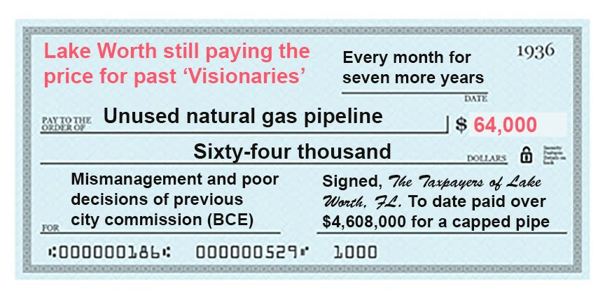"The $64,000 question— Will the press ever report on this? Click on ""the check"" below:"