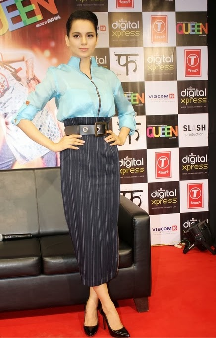 Kangana Ranaut for promotion of Queen at Reliance Digital Express Store