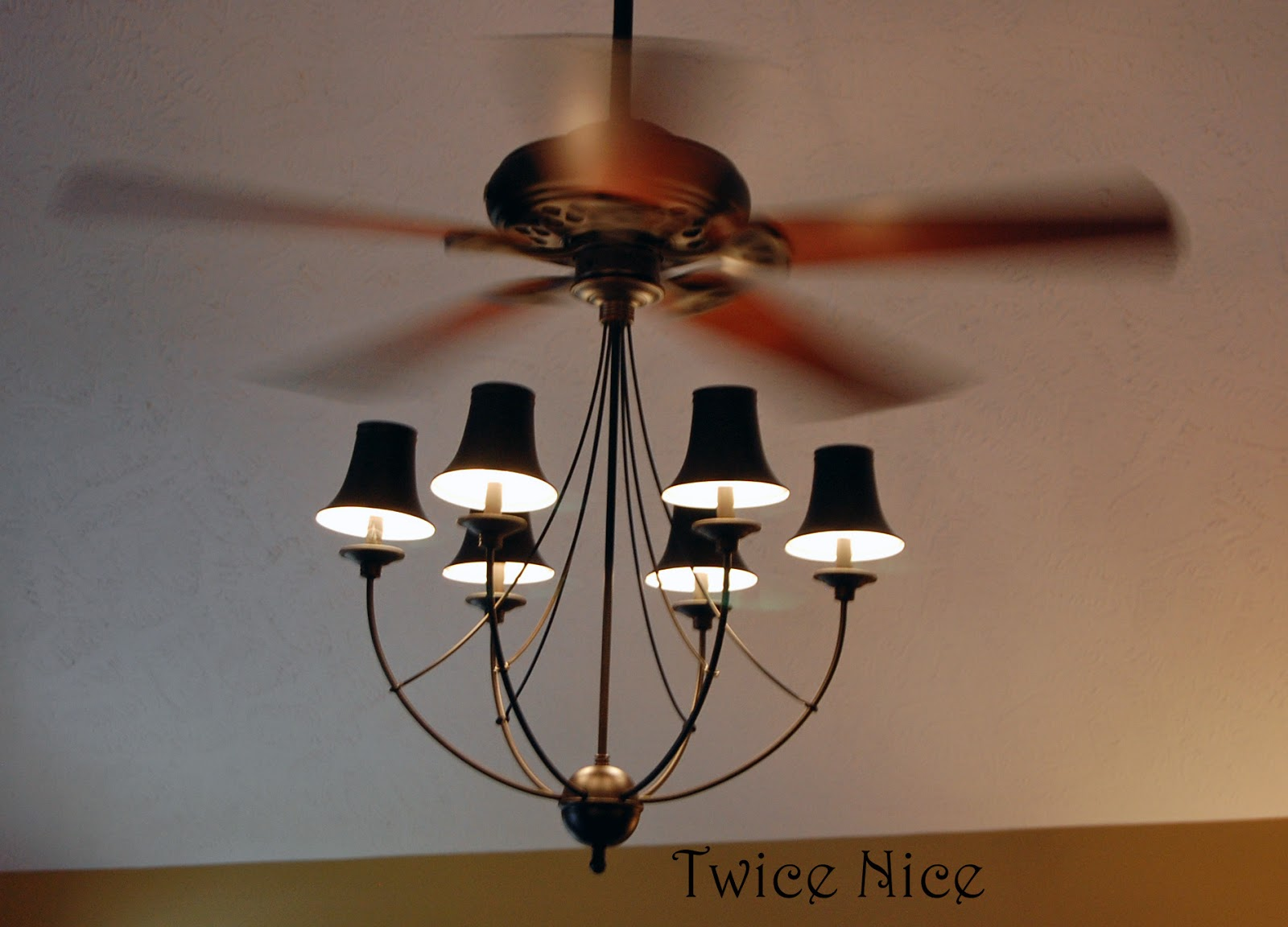 Twice nice big blue and ceiling fans arubaitofo Choice Image
