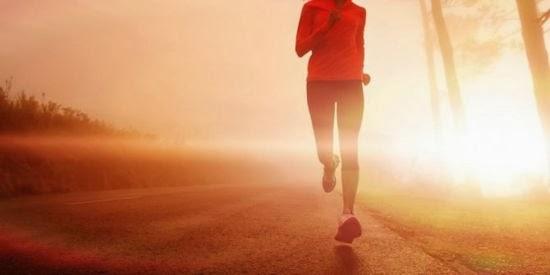 olahraga lari bisa meredakan stres