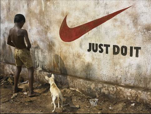 Funny picture of Reebok just do it