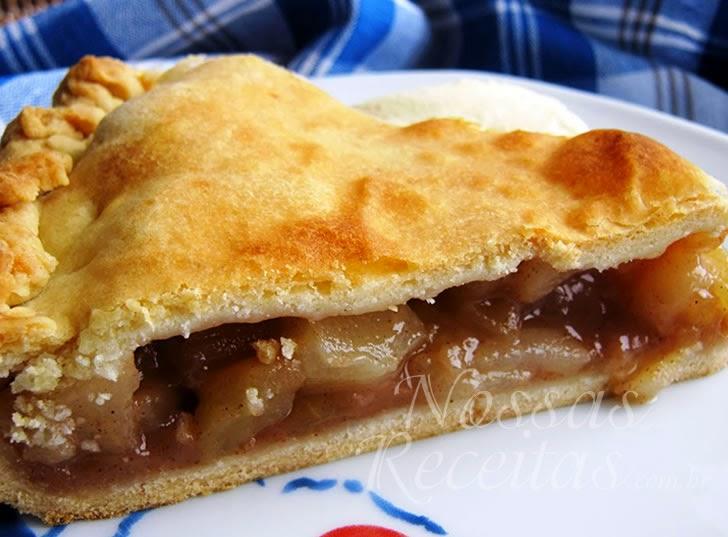 Receita de Torta de maçã - Apple Pie