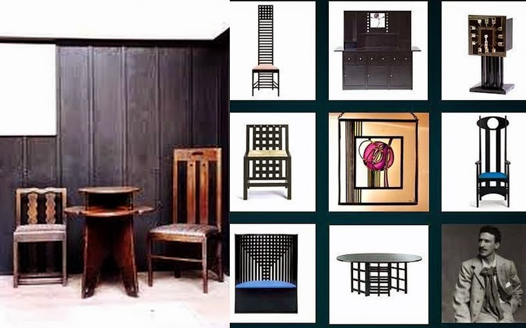 designer retrospective charles rennie mackintosh be inspired. Black Bedroom Furniture Sets. Home Design Ideas