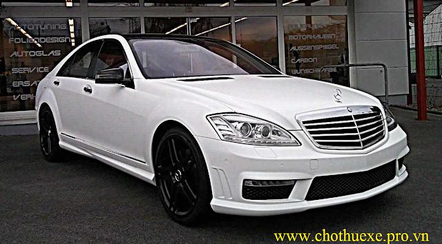 Cho thuê xe 4 chỗ Mercedes S500 sang trọng