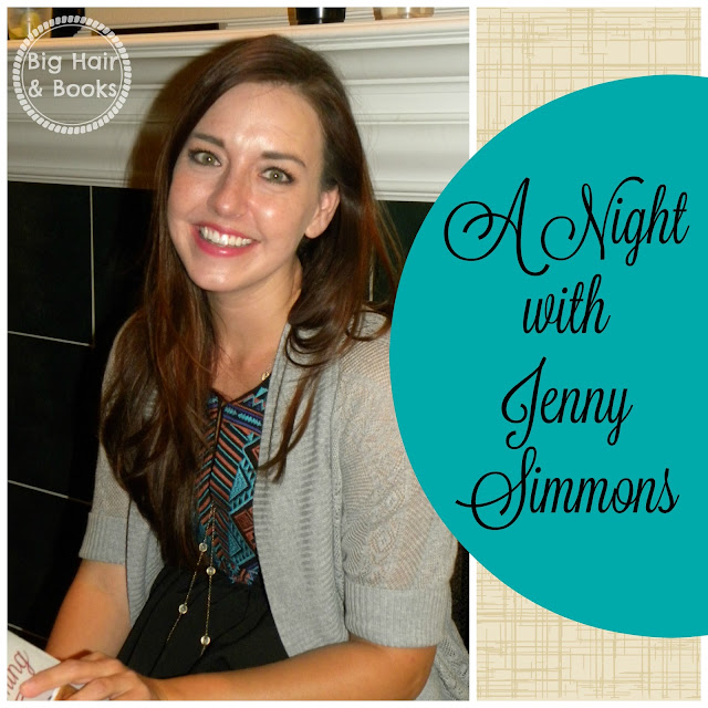 A Night with Jenny Simmons #AddisonRoad #JennySimmons #TheRoadtoBecoming #booklaunch