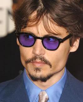 31d76b95126 Sonya64blog  Inspired by  purple sunglasses on Johnny Depp
