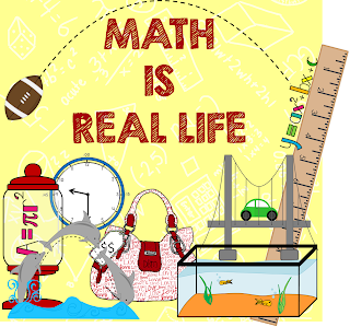 Math is Real Life - Different representations of how math is relevant in real life