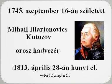 Mihail Illarionovics Kutuzov