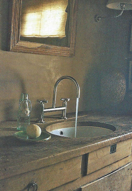 Cte Est Dec-Fev 2001-2002, Chalet Bath Vanity as seen on linenandlavender.net
