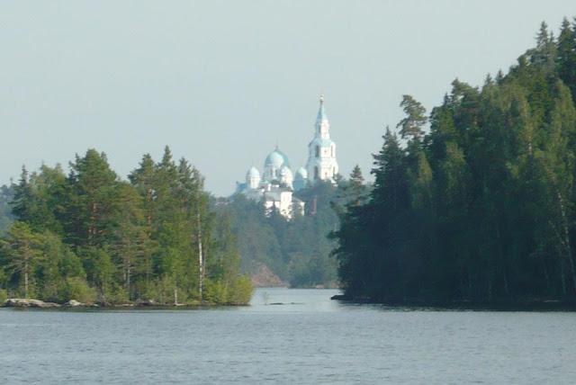 На Валааме восстановлена историческая часовня в честь преподобного Сергия Радонежского