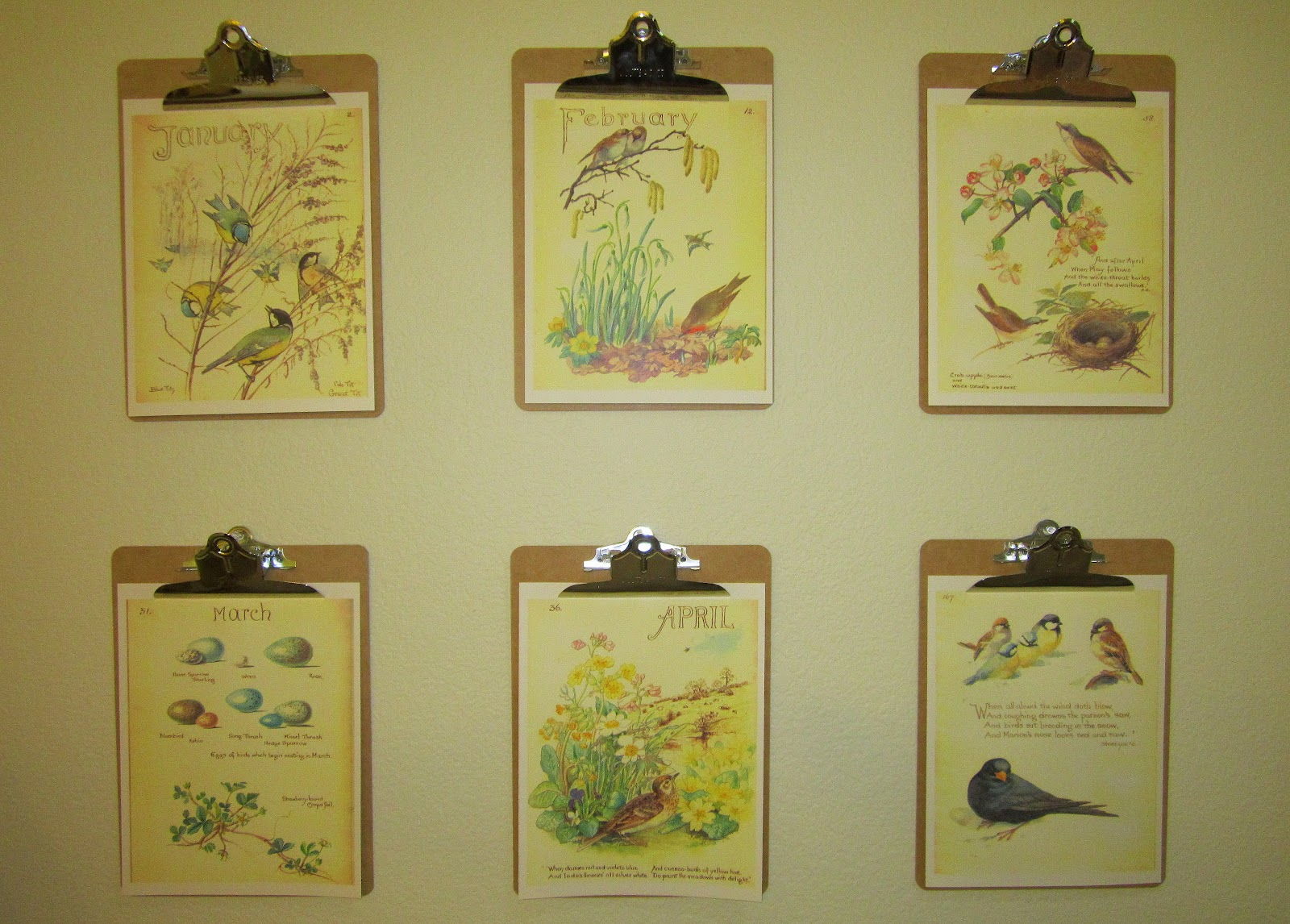 Clipboard Wall Art : Thoughts from a daughter of the king clipboard wall art