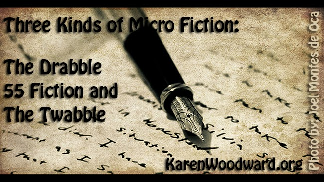 Three Kinds of Micro Fiction: The Drabble, 55 Fiction and The Twabble