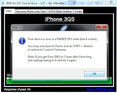 Cara Downgrade iOS 6.1.3 ke iOS 5.1.1 Menggunakan iFaith