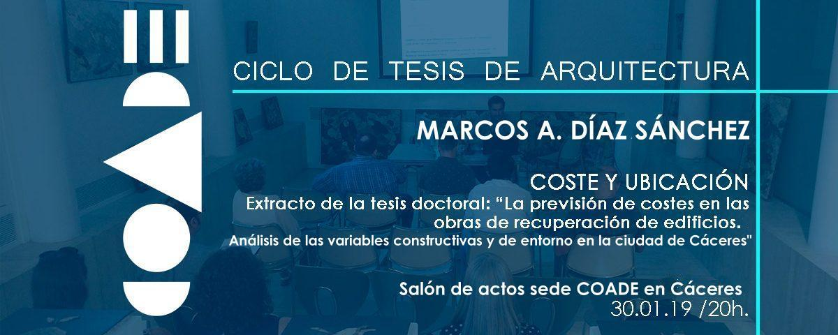 CICLO TESIS DE ARQUITECTURA EN EL COADE