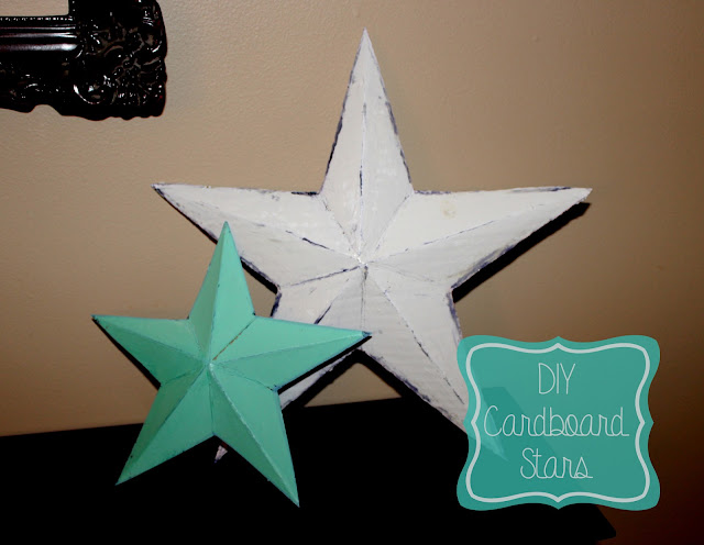 How to make barn stars out of cardboard