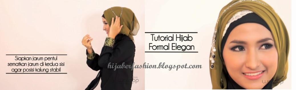 Pintar Pakai Jilbab: Tutorial Hijab Paris Untuk Acara Formal