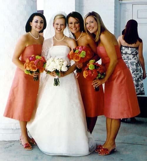 Prepare wedding dresses how to choose bridesmaid dress for Fall wedding dress colors