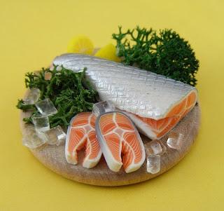 Peixe em miniatura