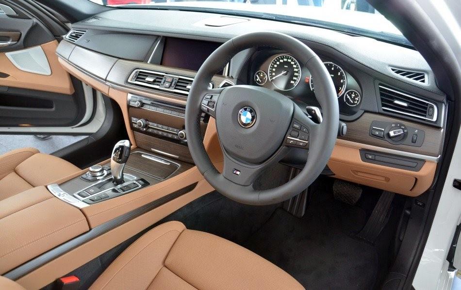 BMW 7 Series 2015 Interior View
