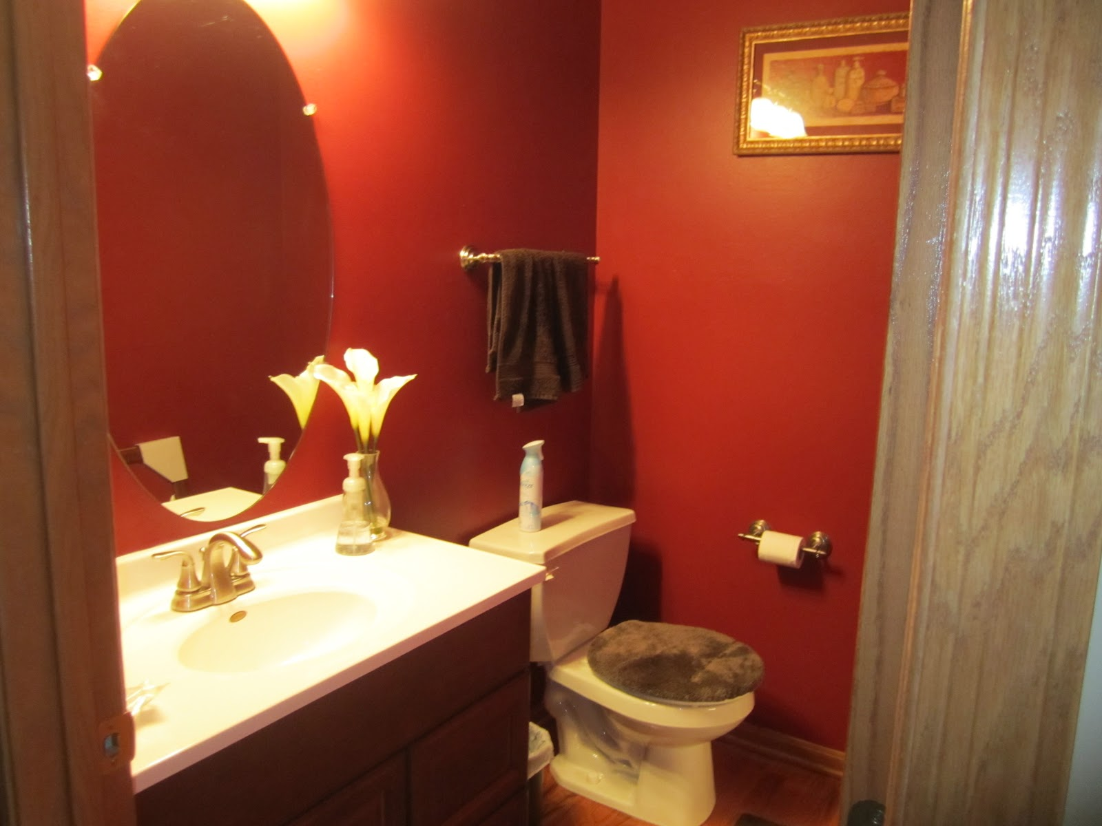 Living The Good Life Powder Room Renovation