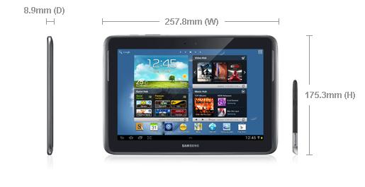 جهاز جالكسي نوت Samsung GALAXY Note 10.1