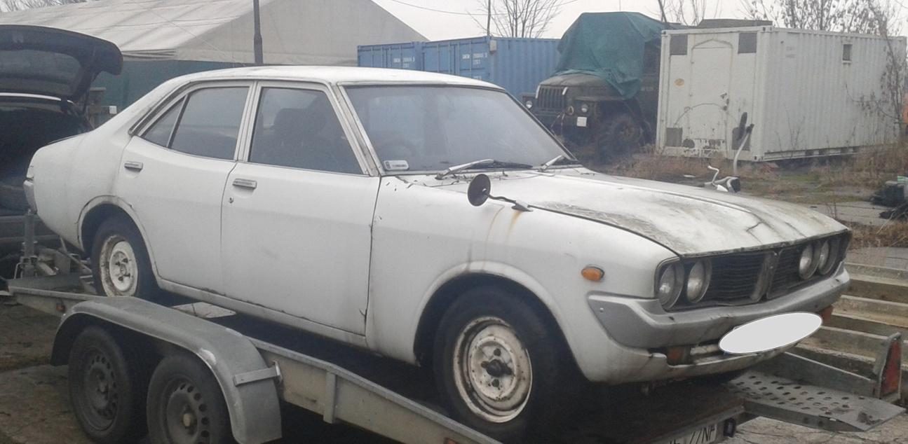 Marcin, Toyota Corona Mark II, RX12, klasyczny japoński samochód