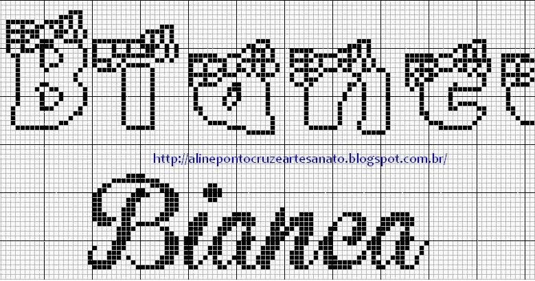 edilse bordados nomes em ponto cruz html