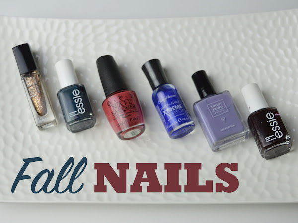 My Most Reached For Fall Nail Polishes