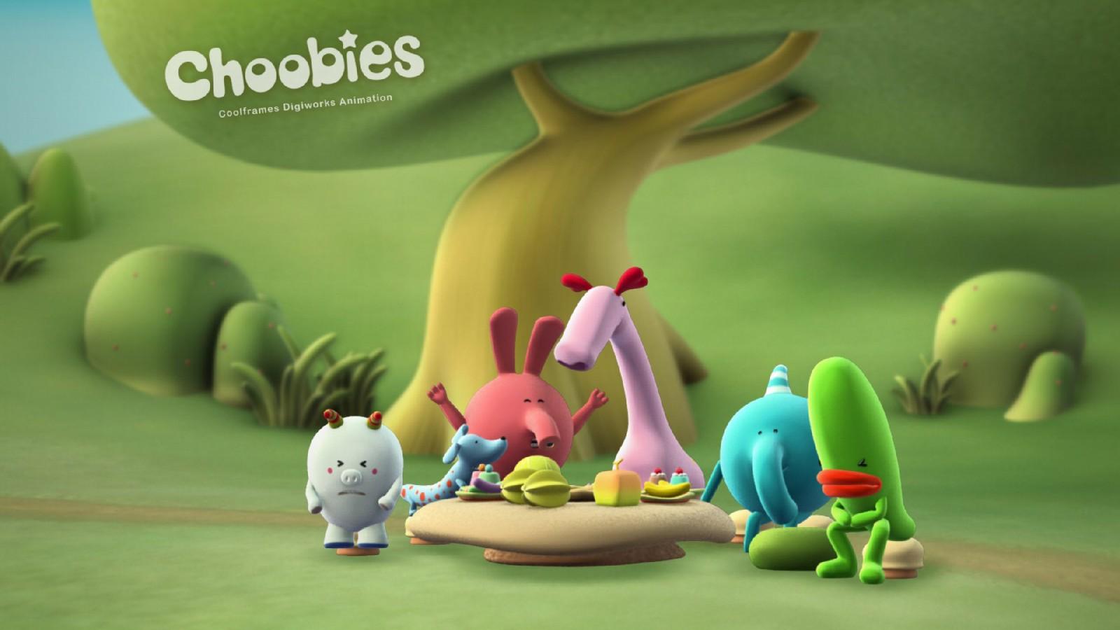 Choobies animated hd cartoons wallpaper hd wallpapers for Wallpaper 3d kids