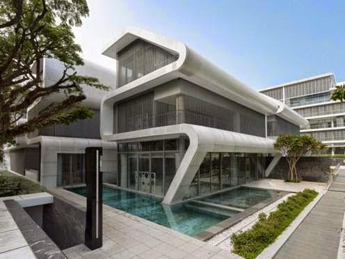 Tòa nhà Oxley tại Singapore - Công ty thiết kế Laud Inc thiết kế (lọt danh sách công trình nhà ở)