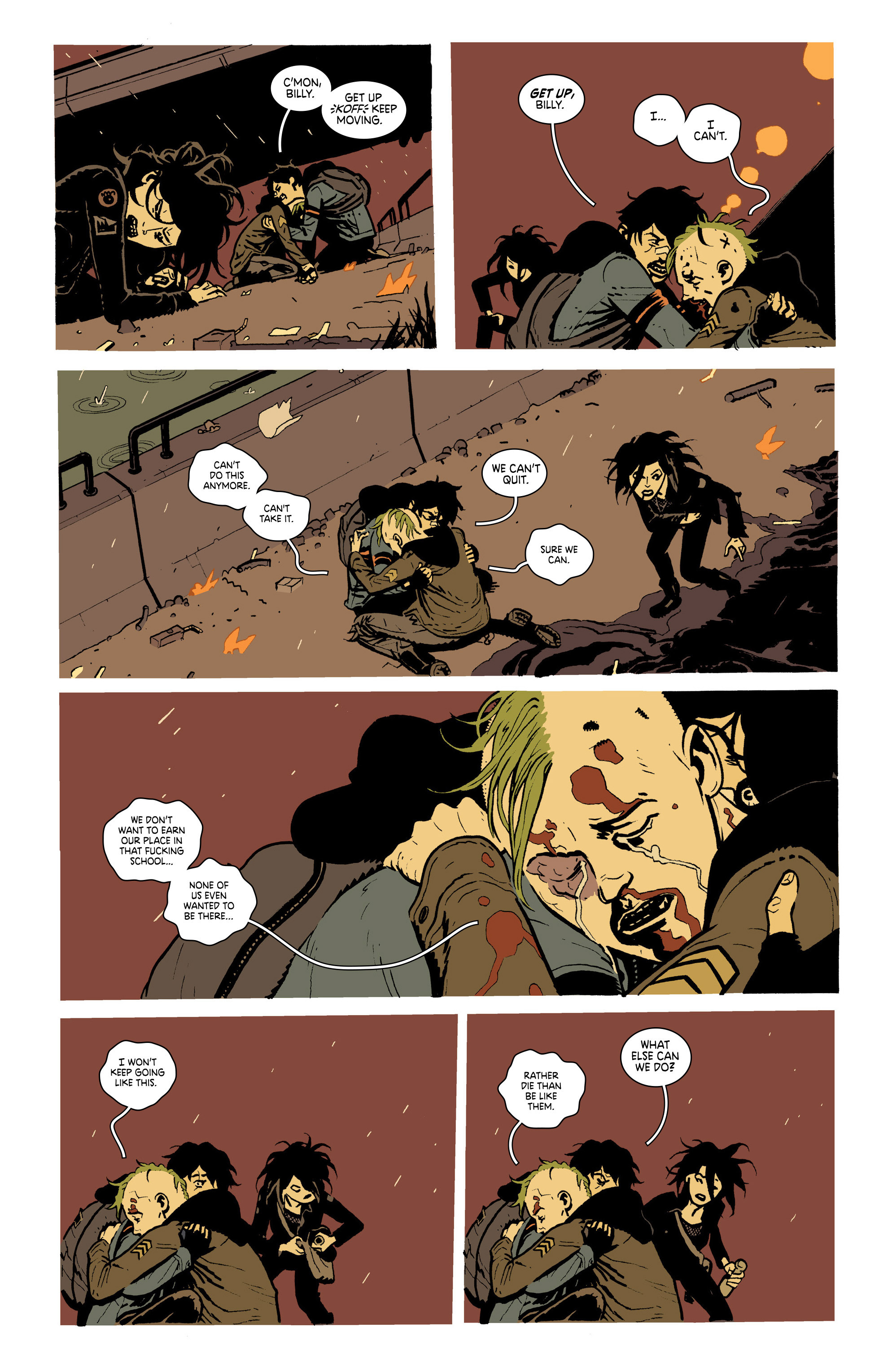 Read online Deadly Class comic -  Issue #19 - 20