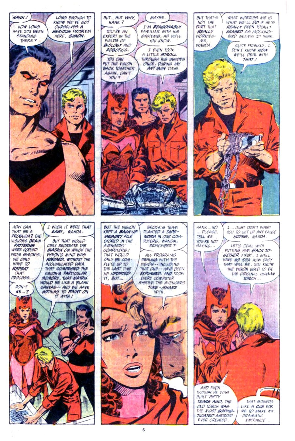 Captain America (1968) Issue #354b #287 - English 6