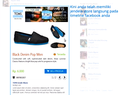 Demo Jualan di Facebook