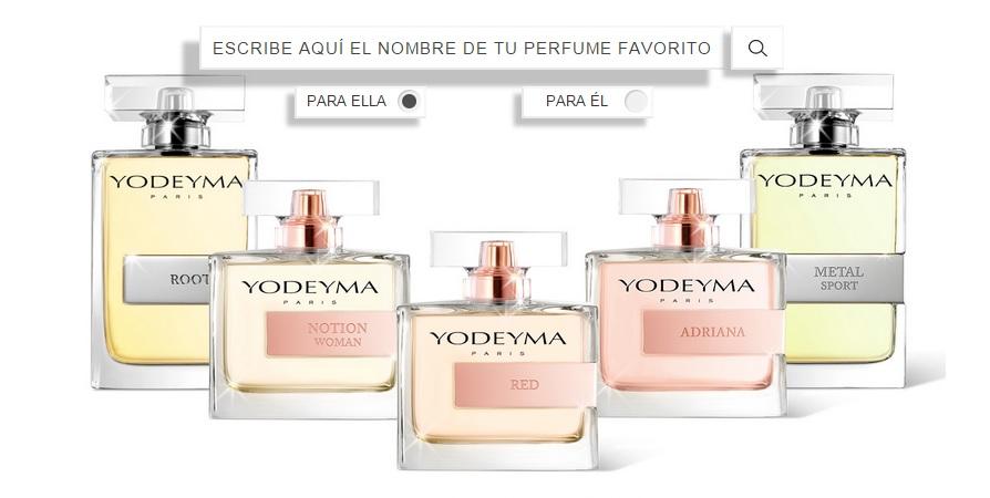 Muestras gratis de los perfumes de yodeiyma