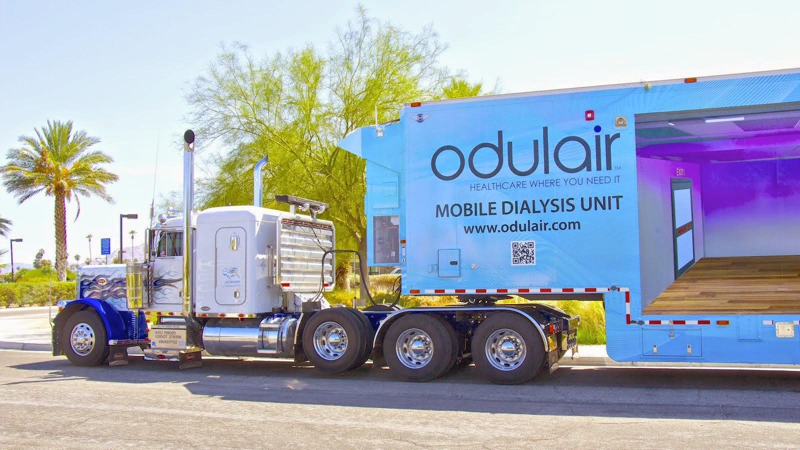 Mobile Dialysis Truck