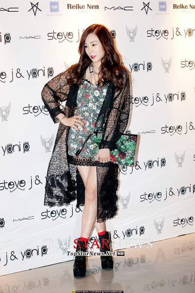 SNSD Tiffany Seoul Fashion Week 2014