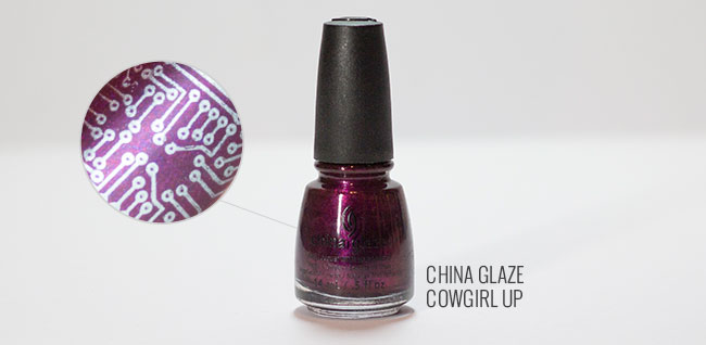 China Glaze Cowgirl Up