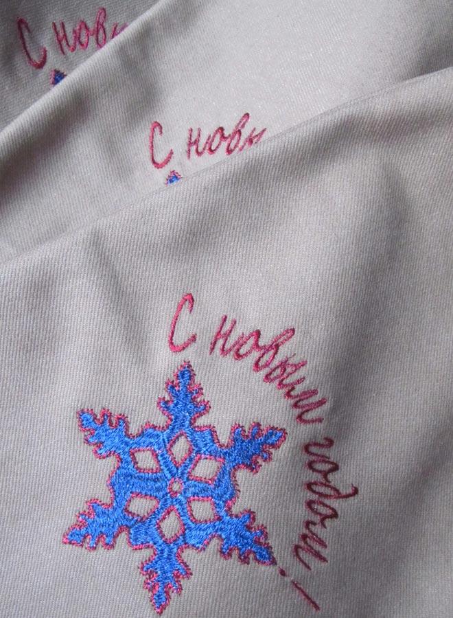Машинная вышивка логотипов на заказ 34