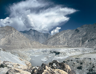 Himalaya Karakorum Hindukush mountain range meeting point, Pakistan
